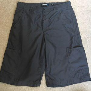 Men's Gray Hawk Cargo Shorts
